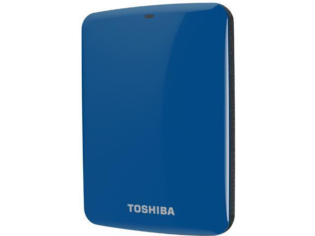 TOSHIBA Canvio Connect 1TB USB 3.0 External Hard Drive HDTC710XL3A1