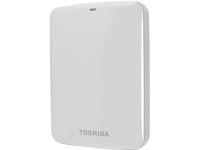 TOSHIBA Canvio Connect 2TB USB 3.0 External Hard Drive HDTC720XW3C1 White