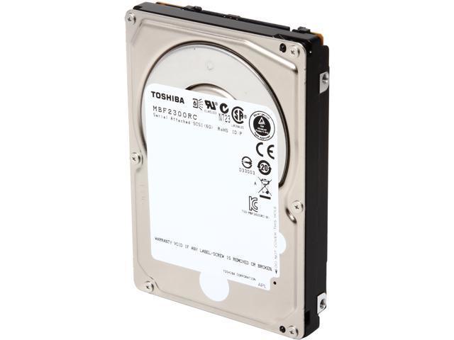 TOSHIBA MBF2300RC 300GB 10025 RPM 16MB Cache SAS 6Gb/s 2.5