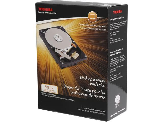 TOSHIBA PH3400U-1I72 4TB 7200 RPM 128MB Cache Serial ATA 3.0 (SATA) 3.5
