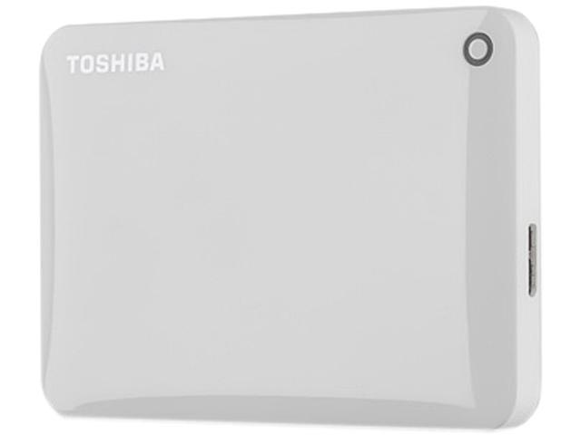 TOSHIBA Canvio Connect II 500GB USB 3.0 Portable Hard Drive HDTC805XW3A1