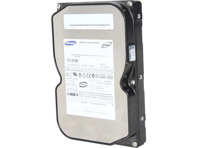 SAMSUNG SV1203N 120GB 5400 RPM 2MB Cache IDE Ultra ATA133 / ATA-7 3.5