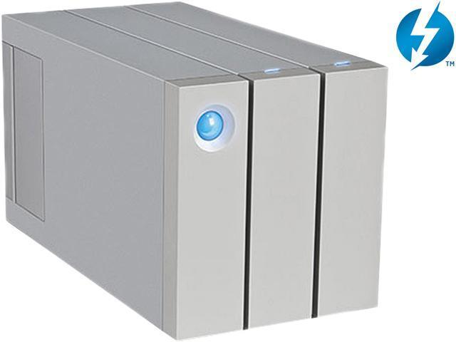 LaCie 2big 8TB USB 3.0 / 2 x Thunderbolt Professional Dual-Disk Hardware RAID External Hard Drive9000438U
