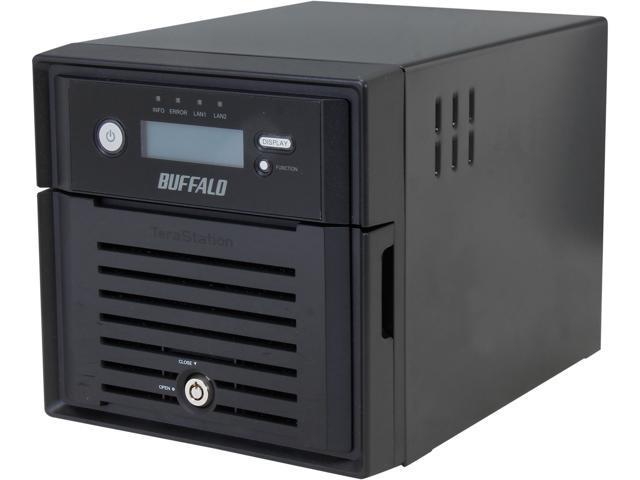 BUFFALO TeraStation 5200 2-Bay 8 TB (2 x 4 TB) RAID NAS & iSCSI Unified Storage - TS5200D0802