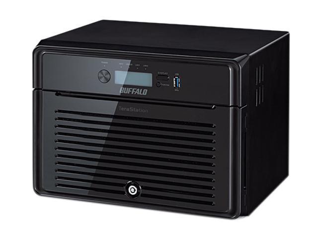 BUFFALO TeraStation 5800 8-Bay 32 TB (8 x 4 TB) RAID NAS & iSCSI Unified Storage - TS5800D3208