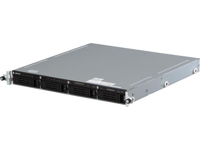 BUFFALO TeraStation 5400 4-Bay 16 TB (4 x 4 TB) RAID 1U Rack Mountable NAS & iSCSI Unified Storage - TS5400R1604
