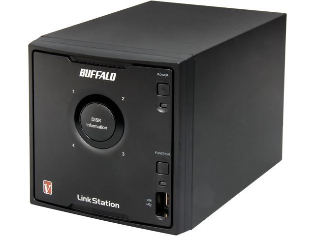 BUFFALO LS-QVLE Diskless System LinkStation Pro Quad Network Storage