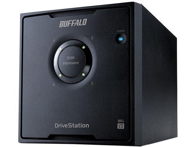 BUFFALO DriveStation Quad 16TB (4 x 4 TB) USB 3.0 High Performance RAID Array with Optimized Hard Drives HD-QH16TU3R5