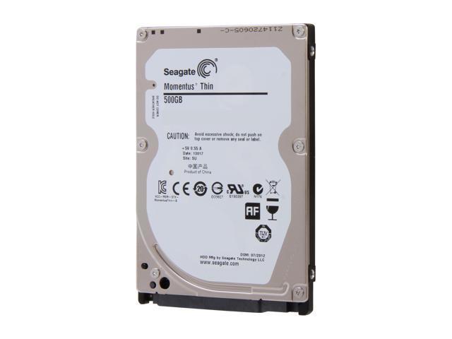 Seagate Momentus Thin ST500LT012 500GB 5400 RPM 16MB Cache SATA 3.0Gb/s 2.5