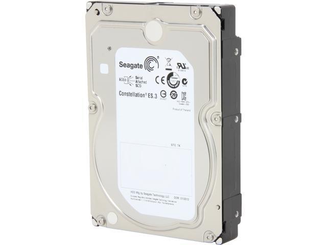 Seagate Constellation ES.3 ST1000NM0023 1TB 128MB Cache SAS 6Gb/s 3.5