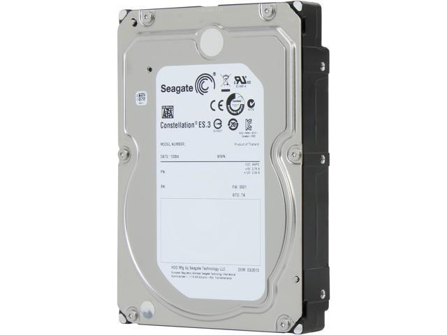 Seagate Constellation ES.3 ST1000NM0033 1TB 128MB Cache SATA 6.0Gb/s 3.5
