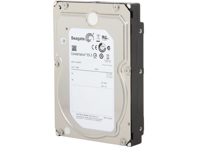 Seagate Constellation ES.3 ST4000NM0033 4TB 128MB Cache SATA 6.0Gb/s 3.5