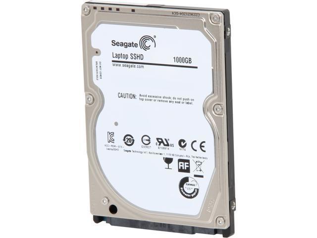 Seagate Hybrid Drives ST1000LM014 1TB MLC/8GB 64MB Cache SATA 6.0Gb/s NCQ 2.5