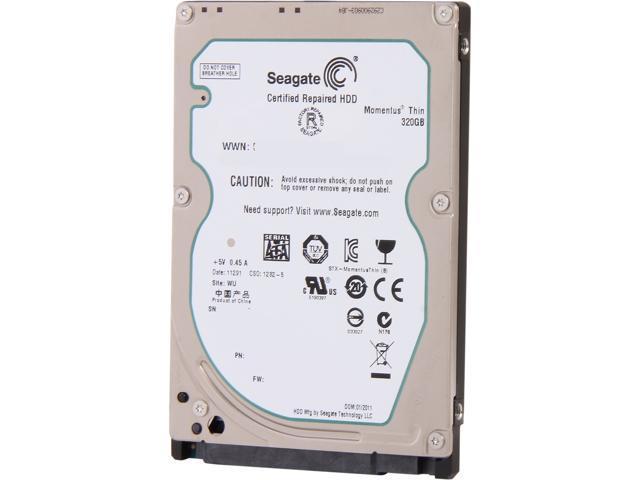 Seagate Momentus Thin ST320LT007 320GB 7200 RPM 16MB Cache SATA 3.0Gb/s 2.5