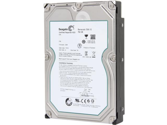 Seagate Barracuda ST3750525AS 750GB 32MB Cache SATA 6.0Gb/s 3.5