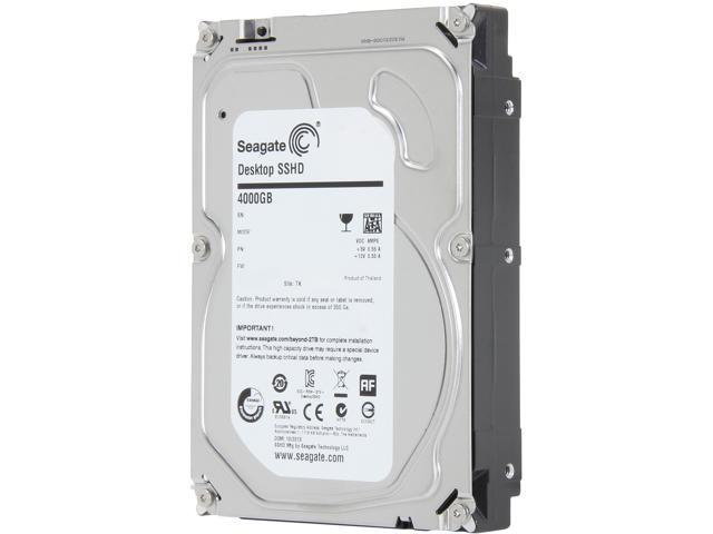 Seagate Hybrid Drive ST4000DX001 4TB MLC/8GB 64MB Cache SATA 6.0Gb/s NCQ 3.5