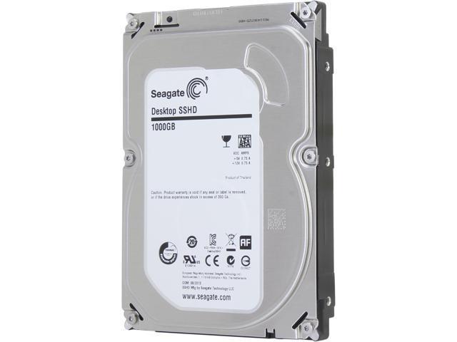 Seagate Hybrid Drive ST1000DX001 1TB MLC/8GB 64MB Cache SATA 6.0Gb/s NCQ 3.5