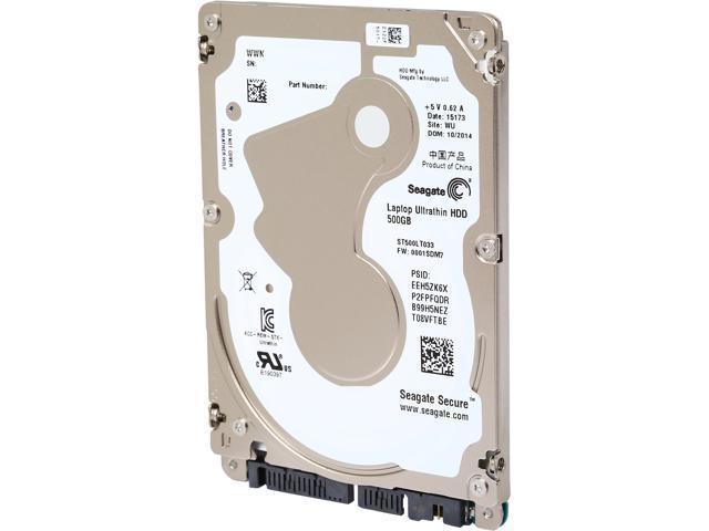 Seagate ST500LT033 500GB 5400 RPM 16MB Cache SATA 6.0Gb/s 2.5