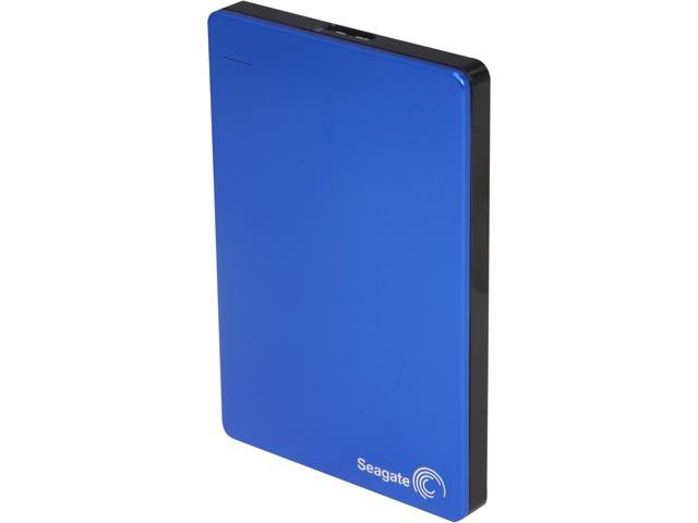Seagate Backup Plus Slim 1TB USB 3.0 Portable Hard Drive STDR1000102 Blue