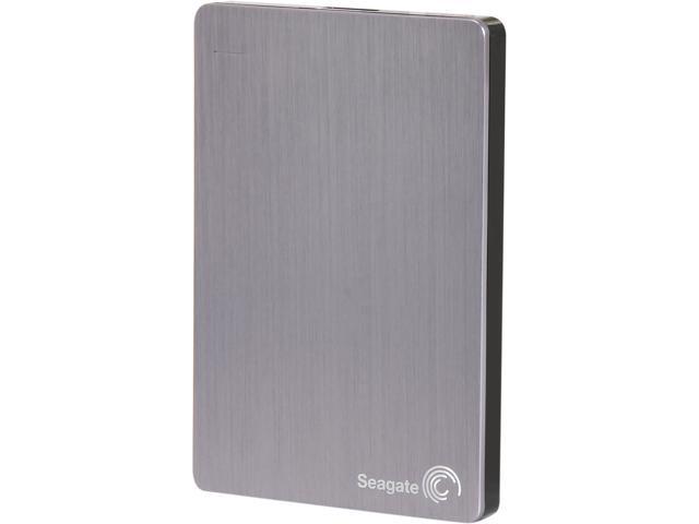 Seagate Backup Plus Slim 2TB USB 3.0 Portable External Hard Drive STDR2000101 Silver