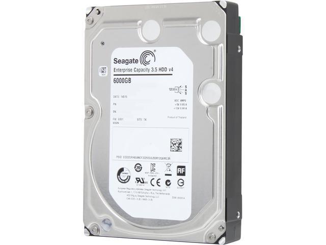 Seagate ST6000NM0034 6TB 128MB Cache SAS 12Gb/s 3.5