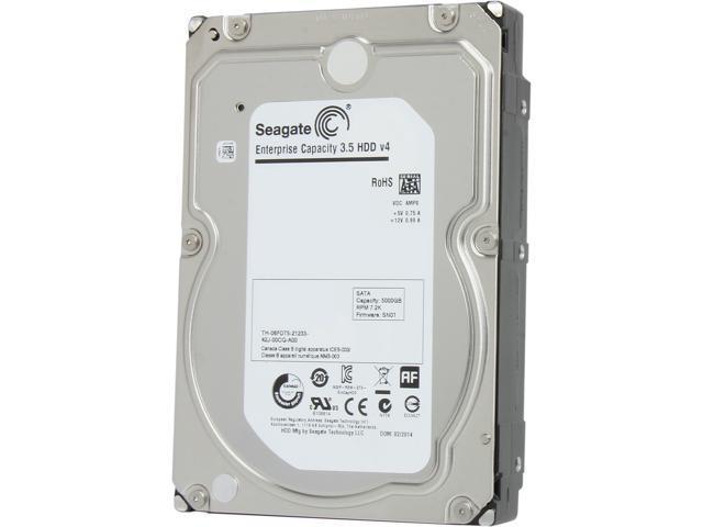 Seagate ST5000NM0024 5TB 128MB Cache SATA 6.0Gb/s 3.5