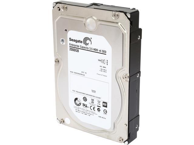 Seagate ST2000NM0054 2TB 7200 RPM 128MB Cache SAS 12Gb/s 3.5