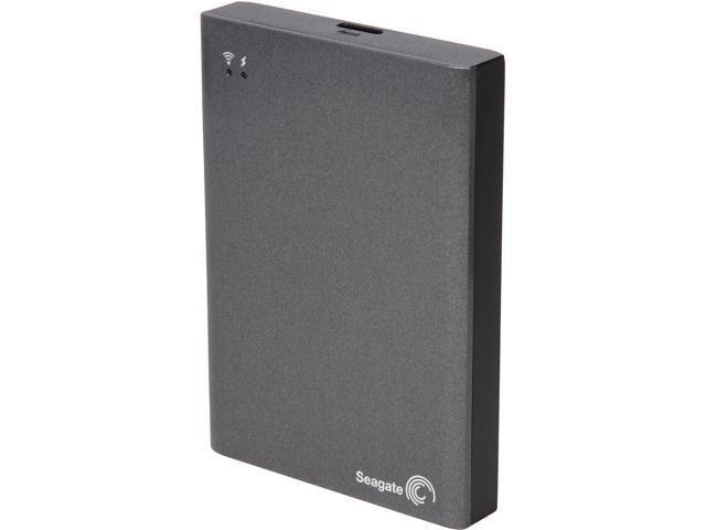 Seagate Wireless Plus 500GB USB 3.0 / WIFI Gray Mobile Device Storage STCV500100