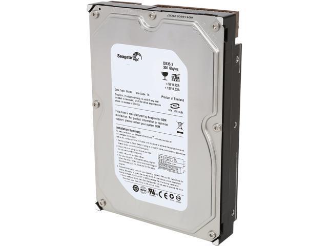 Seagate DB35.3 ST3300820ACE 300GB 8MB Cache IDE Ultra ATA 100 3.5