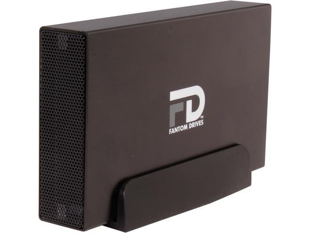 Fantom Drives 2TB USB 3.0/eSATA External Hard Drive GF3B2000EUA Black