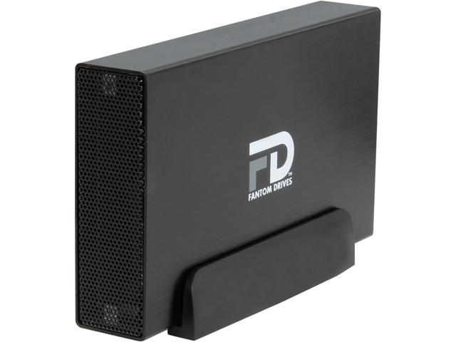 Fantom Drives 3TB USB 3.0/eSATA External Hard Drive GF3B3000EUA Black