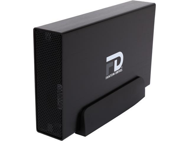 Fantom Drives Gforce/3 5TB USB 3.0 Aluminum External Hard Drive GF3B5000U Black
