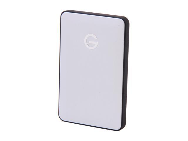 G-Technology G-DRIVE mobile 0G02420 500GB USB 3.0 Silver Portable Hard Drive