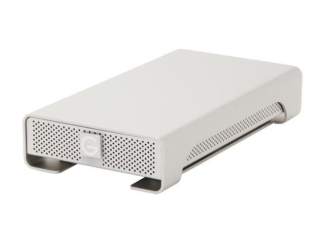 G-Technology G-Drive(Gen 5) 2TB 7200 RPM Professional High-Performance EXternal Hard Drive USB 3.0/ Firewire800 Silver (0G02529)