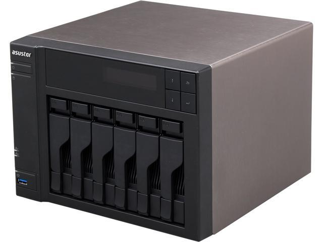Asustor AS-606T Diskless System Network Storage
