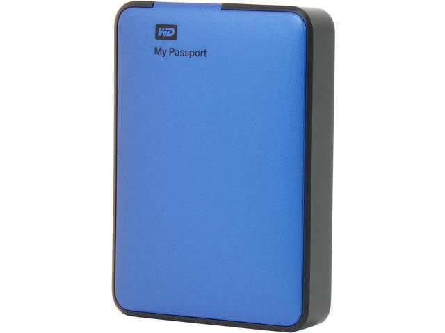 WD My Passport Essential 2TB USB 3.0 External Hard Drive WDBY8L0020BBL-NESN Blue