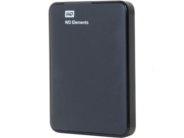 Western Digital Elements 1TB USB 3.0 External Hard Drive WDBUZG0010BBK-NESN Black
