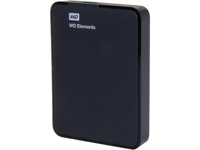 WD Elements 1.5TB USB 3.0 Portable Hard Drive WDBU6Y0015BBK-NESN