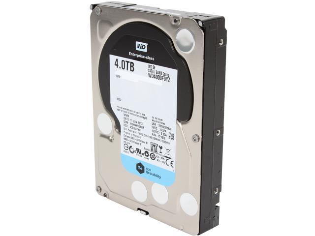 WD SE WD4000F9YZ 4TB 64MB Cache SATA 6.0Gb/s 3.5