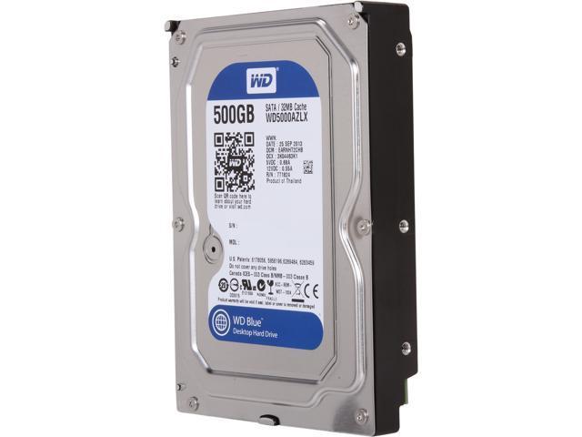 WD WDBH2D5000ENC-NRSN 500GB 7200 RPM 32MB Cache SATA 6.0Gb/s 3.5