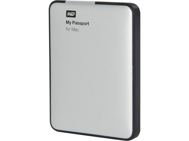 WD My Passport for Mac 500GB USB 3.0 Mac Storage Model WDBLUZ5000ASL-NESN