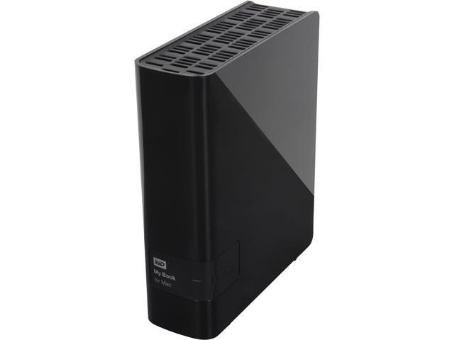 WD My Book for Mac 2TB USB 3.0 Desktop External Hard Drive Model WDBYCC0020HBK-NESN