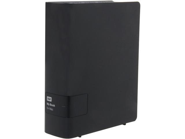 WD My Book for Mac 3TB USB 3.0 Desktop External Hard Drive Model WDBYCC0030HBK-NESN