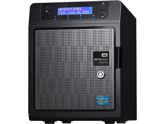 WD WDBWVL0080KBK-NESN 8TB Sentinel DS6100 Ultra-compact Storage Plus Server