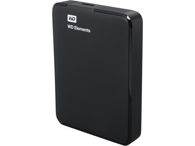 WD Elements 1.5TB USB 3.0 External Hard Drive WDBU6Y0015BBK-NESN Black