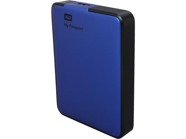 WD My Passport Essential 2TB USB 3.0 External Hard Drive WDBY8L0020BBL-NESN Blue