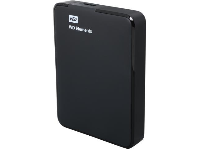 WD Elements 2TB USB 3.0 External Hard Drive WDBU6Y0020BBK-NESN Black