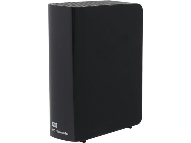 WD Elements 3TB USB 3.0 External Desktop Storage WDBWLG0030HBK-NESN Black