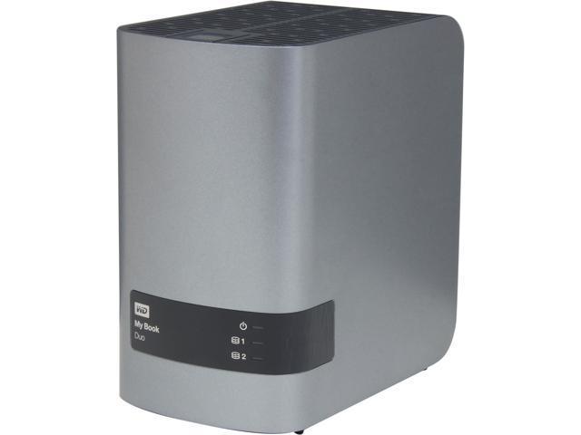 My Book Duo 4TB dual-drive, USB3.0 high-speed premium RAID storage Model WDBLWE0040JCH-NESN