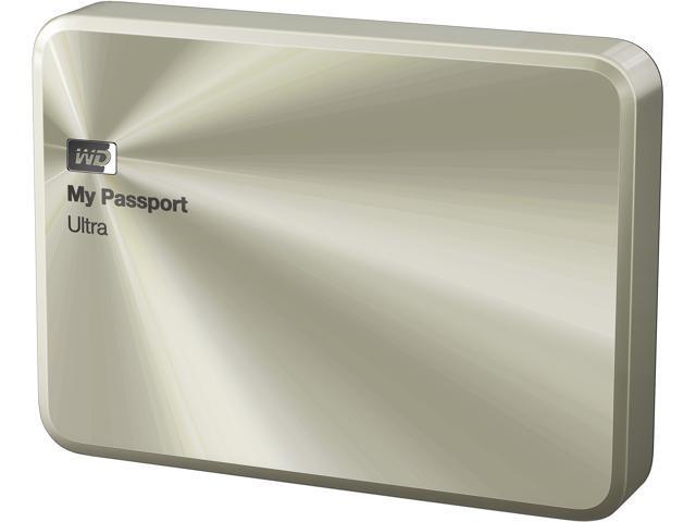 My Passport Ultra Anniversary Edition 2TB USB 3.0 premium storage with style Model WDBEZW0020BCG-NESN